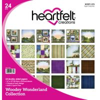 "Heartfelt Creations Double-Sided Paper Pad 12""X12"" 24/Pkg NOTM303586"