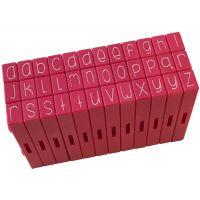 Pink & Main Curvy Girl Font Stamp Set 36pcs NOTM074250