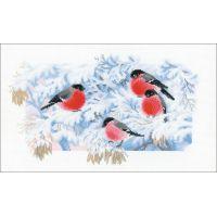 Frosty Morning Counted Cross Stitch Kit NOTM273858