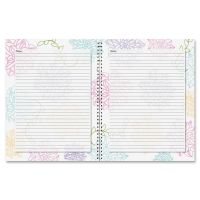 House of Doolittle Whimsical Floral Doodle Notebook HOD78097