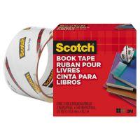 """Scotch Book Repair Tape, 2"""" x 15yds, 3"""" Core, Clear MMM8452"""