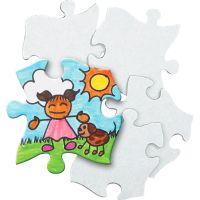 Roylco Blank Cardboard Puzzle Pieces RYLR52022