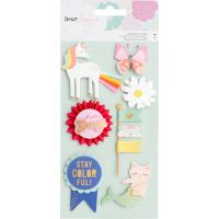 Dear Lizzy Stay Colorful Layered Stickers NOTM337831