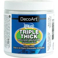 Triple Thick Brilliant Brush-On Gloss Glaze 8oz NOTM268332