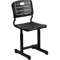 Flash Furniture Adjustable Height Student Chair  FHFYUYCX09010GG