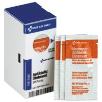 First Aid Only Refill for SmartCompliance Gen Cabinet, Antibiotic Ointment, 0.9g Packet, 20/Bx FAOFAE7040