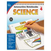 Carson-Dellosa Grade 4 Science Interactive Notebook Interactive Education Printed Book for Science CDP104908