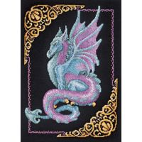 Janlynn Mythical Dragon Picture Counted Cross Stitch Kit NOTM251373