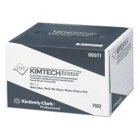 Kimtech* Precision Wipers, POP-UP Box, 1-Ply, 4 2/5 x 8 2/5, White, 280/BX, 60 BX/CT KCC05511