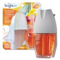 BRIGHT Air Electric Scented Oil Air Freshener Warmer/Refill, Hawaiian Blossoms and Papaya BRI900254EA