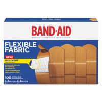 "BAND-AID Flexible Fabric Adhesive Bandages, 1"" x 3"", 100/Box JOJ4444"