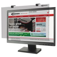 """Innovera Protective Antiglare LCD Monitor Filter, Fits 24"""" Widescreen LCD, 16:9/16:10 IVR46406"""