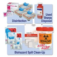 Unimed Essential OSHA Compliance Kit, 13 Pieces, 16 x 16 x 12 UMIKITOEK