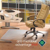 Floortex Advantagemat Antimicrobial Chair Mat FLRAB129020EV