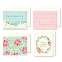 Sugar Plum Christmas Cards W/Envelopes 12/Pkg NOTM439692