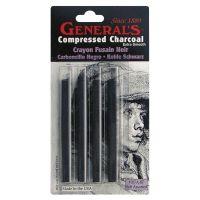 Compressed Charcoal Sticks 4/Pkg NOTM412342