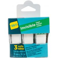 "Seal-It Invisible Tape .75""X400"" 3/Pkg NOTM205225"