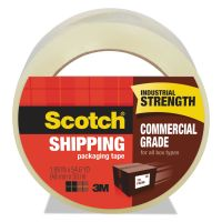 "Scotch 3750 Commercial Grade Packaging Tape, 1.88"" x 54.6yds, 3"" Core, Clear MMM3750"