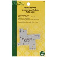 Dritz Quilting 14-In-1 Measuring Gauge NOTM086774