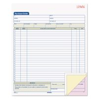 TOPS Purchase Order Book, 8 3/8 x 10 3/16, Three-Part Carbonless, 50 Sets/Book TOP46147