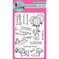 """Pink & Main Clear Stamps 4""""X6"""" NOTM374971"""