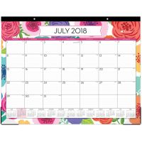 Blue Sky Mahalo Monthly Academic Calendar Desk Pad BLS100157