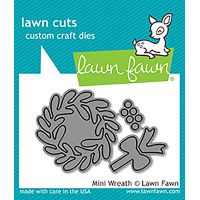 Lawn Cuts Mini Wreath Custom Craft Dies NOTM086678