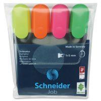 Schneider StrideTextmarker Highlighter 4-color Pack STW01500