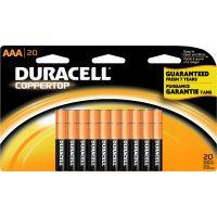Duracell Coppertop AAA Batteries DURMN2400B20