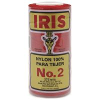 Iris Nylon Crochet Thread - Red NOTM418030