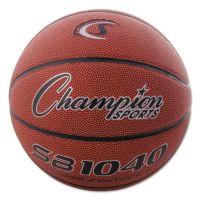 "Champion Sports Composite Basketball, Official Junior, 27.75"", Brown CSISB1040"
