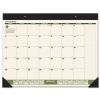 AT-A-GLANCE Recycled Monthly Desk Pad, 22 x 17, 2019 AAGSK32G00