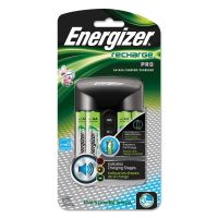 Energizer Pro Charger with 4 AA Rechargeable Batteries EVECHPROWB4