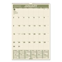 AT-A-GLANCE Recycled Wall Calendar, 15 1/2 x 22 3/4, 2019 AAGPM3G28