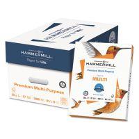 Hammermill Premium Multipurpose Paper, 97 Brightness, 20 lb, 8 1/2 x 11, White, 5000 Sheets/Carton HAM106310