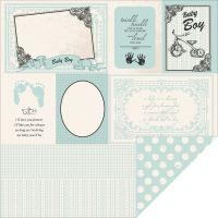 Pitter Patter Double-Sided Cardstock  NOTM440854