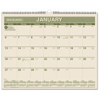 AT-A-GLANCE Recycled Wall Calendar, 15 x 12, 2019 AAGPMG7728