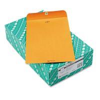 Quality Park Clasp Envelope, 9 1/4 x 14 1/2, 28lb, Brown Kraft, 100/Box QUA37894