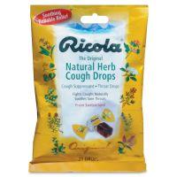 Ricola Cough Drops, Natural Herb, 21 Drops/Bag LIL7776
