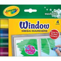 Crayola Washable Window Mega Markers NOTM154378