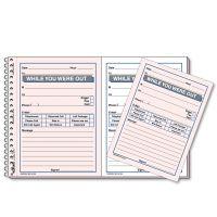 Rediform Desk Saver Line Wirebound Message Book, 5 1/2 x 4, Two-Part, 100 Sets/Book RED50226