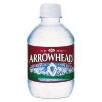 Arrowhead Natural Spring Water, 8 oz Bottle, 48 Bottles/Carton NLE827163
