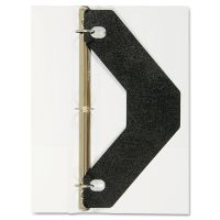 Avery Triangle Shaped Sheet Lifter for Three-Ring Binder, Black, 2/Pack AVE75225