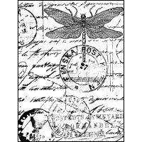 """Crafty Individuals Unmounted Rubber Stamp 4.75""""X7"""" Pkg NOTM082599"""