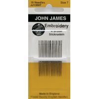 John James Embroidery Hand Needles NOTM072149
