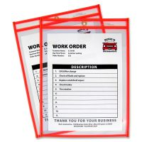 C-Line Colored Stitched Shop Ticket Holder CLI43912