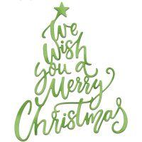 CottageCutz Elites We Wish You A Merry Christmas Dies NOTM089165