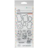 "Mama Elephant Stamp & Die Set 4""X8"" NOTM356697"