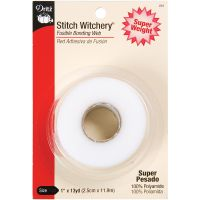 Stitch Witchery Fusible Bonding Web Super Weight NOTM100250