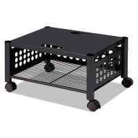 Vertiflex Underdesk Machine Stand, One-Shelf, 21 1/2w x 17 7/8d x 11 1/2h, Black VRTVF52009